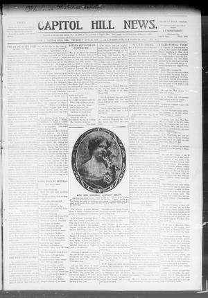 Primary view of object titled 'Capitol Hill News. (Capitol Hill, Okla.), Vol. 2, No. 52, Ed. 1 Thursday, August 29, 1907'.