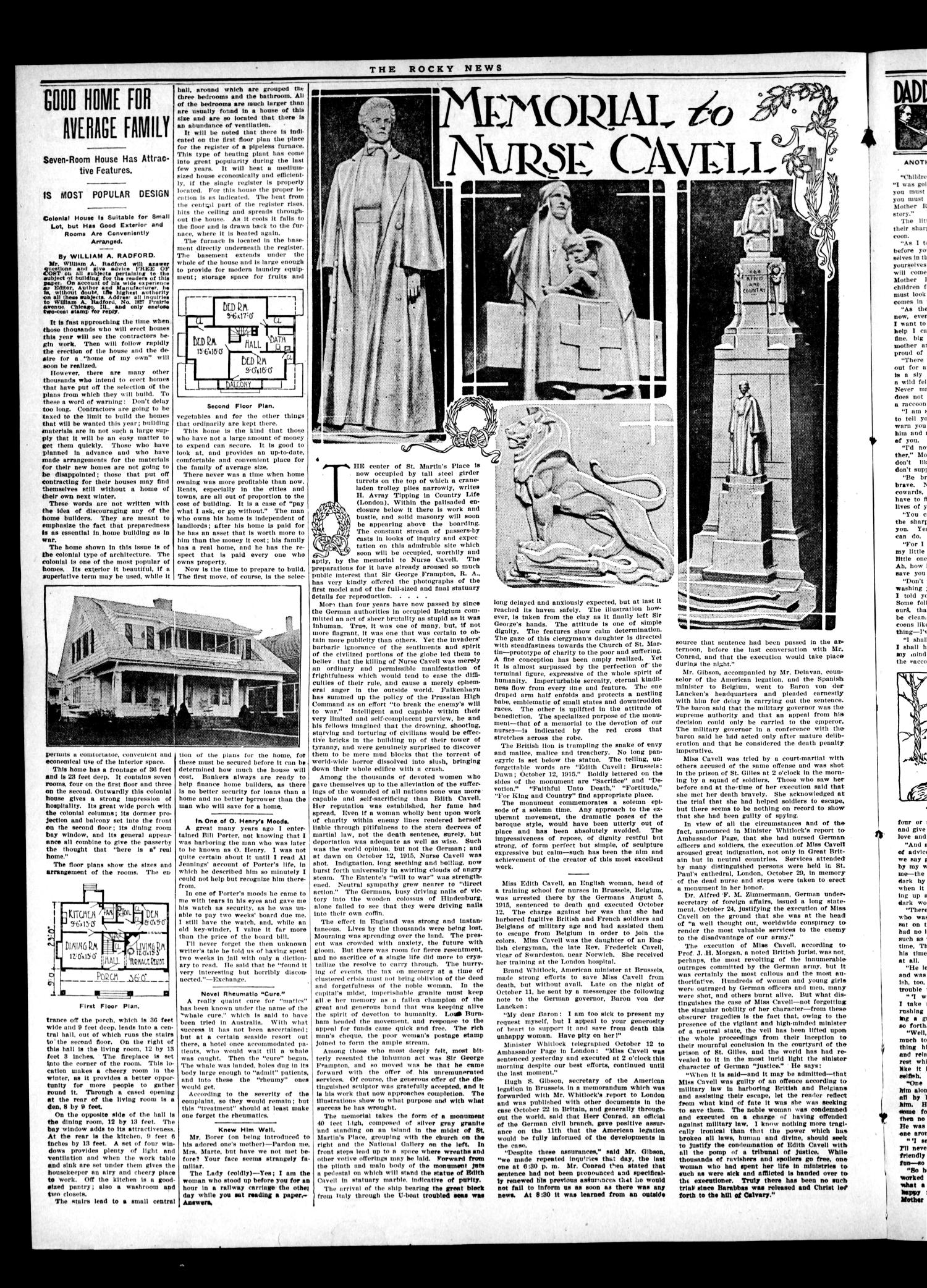 The Rocky News (Rocky, Okla.), Vol. 1, No. 35, Ed. 1 Friday, March 12, 1920                                                                                                      [Sequence #]: 2 of 4
