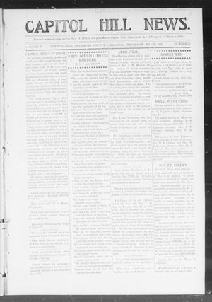 Primary view of object titled 'Capitol Hill News. (Capitol Hill, Okla.), Vol. 2, No. 38, Ed. 1 Thursday, May 23, 1907'.