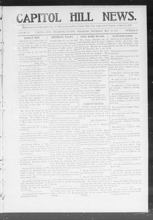 Primary view of object titled 'Capitol Hill News. (Capitol Hill, Okla.), Vol. 2, No. 37, Ed. 1 Thursday, May 16, 1907'.