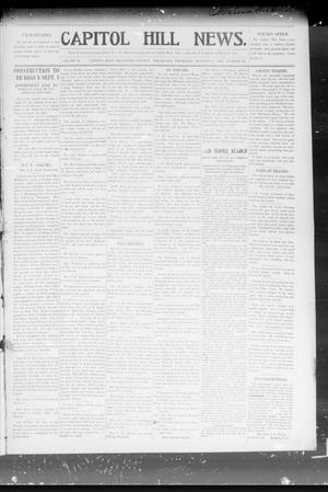 Primary view of object titled 'Capitol Hill News. (Capitol Hill, Okla.), Vol. 2, No. 49, Ed. 1 Thursday, August 8, 1907'.