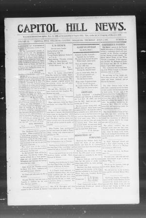 Primary view of object titled 'Capitol Hill News. (Capitol Hill, Okla.), Vol. 2, No. 44, Ed. 1 Thursday, July 4, 1907'.