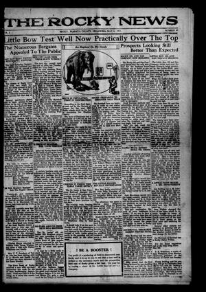 Primary view of object titled 'The Rocky News (Rocky, Okla.), Vol. 16, No. 49, Ed. 1 Friday, May 6, 1921'.