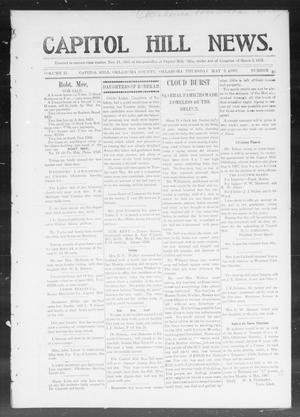 Primary view of object titled 'Capitol Hill News. (Capitol Hill, Okla.), Vol. 2, No. 35, Ed. 1 Thursday, May 2, 1907'.