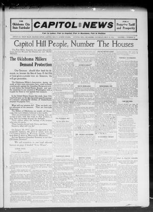 Primary view of object titled 'Capitol Hill News (Capitol Hill, Okla.), Vol. 6, No. 34, Ed. 1 Saturday, May 27, 1911'.