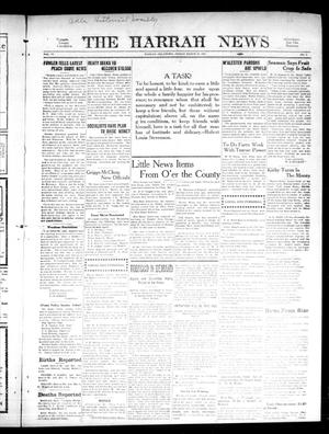 Primary view of object titled 'The Harrah News (Harrah, Okla.), Vol. 6, No. 8, Ed. 1 Friday, March 19, 1915'.