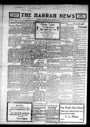 Primary view of object titled 'The Harrah News (Harrah, Okla.), Vol. 6, No. 44, Ed. 1 Friday, November 12, 1915'.