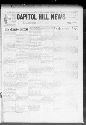 Primary view of object titled 'Capitol Hill News (Capitol Hill, Okla.), Vol. 3, No. 32, Ed. 1 Saturday, April 18, 1908'.