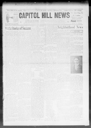 Primary view of object titled 'Capitol Hill News (Capitol Hill, Okla.), Vol. 3, No. 30, Ed. 1 Saturday, April 4, 1908'.