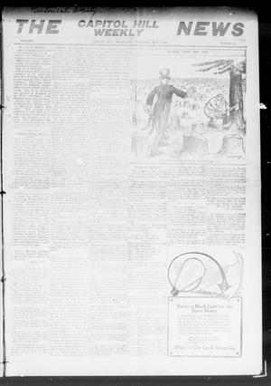 Primary view of object titled 'The Capitol Hill Weekly News (Capitol Hill, Okla.), Vol. 4, No. 50, Ed. 1 Thursday, September 2, 1909'.
