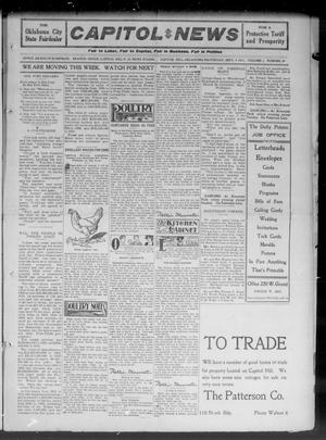 Primary view of object titled 'Capitol Hill News (Capitol Hill, Okla.), Vol. 6, No. 49, Ed. 1 Saturday, September 9, 1911'.