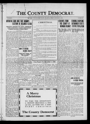 Primary view of object titled 'The County Democrat. (Tecumseh, Okla.), Vol. 27, No. 13, Ed. 1 Friday, December 24, 1920'.