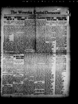 Primary view of The Wewoka Capital-Democrat (Wewoka, Okla.), Vol. 17, No. 34, Ed. 1 Thursday, August 30, 1917
