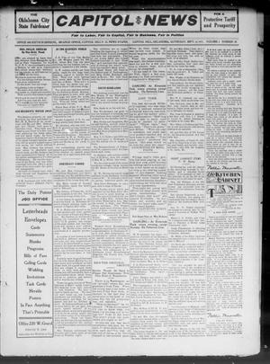 Primary view of Capitol Hill News (Capitol Hill, Okla.), Vol. 6, No. 50, Ed. 1 Saturday, September 16, 1911