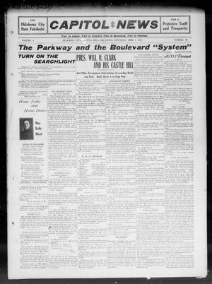 Primary view of object titled 'Capitol Hill News (Oklahoma City, Capitol Hill, Okla.), Vol. 6, No. 26, Ed. 1 Saturday, April 1, 1911'.