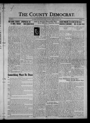 Primary view of object titled 'The County Democrat. (Tecumseh, Okla.), Vol. 27, No. 47, Ed. 1 Friday, August 26, 1921'.