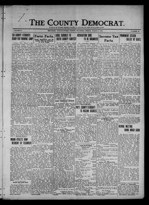 Primary view of object titled 'The County Democrat. (Tecumseh, Okla.), Vol. 27, No. 24, Ed. 1 Friday, March 11, 1921'.