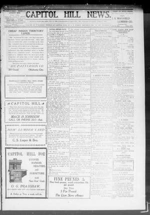Primary view of object titled 'Capitol Hill News. (Capitol Hill, Okla.), Vol. 3, No. 15, Ed. 1 Saturday, December 14, 1907'.