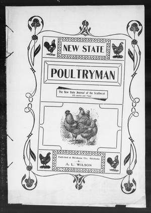 Primary view of object titled 'New State Poultryman (Oklahoma City, Okla.), Vol. 1, No. 2, Ed. 1 Saturday, September 1, 1906'.