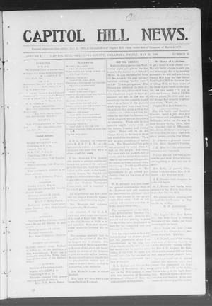 Primary view of object titled 'Capitol Hill News. (Capitol Hill, Okla.), Vol. 1, No. 38, Ed. 1 Friday, May 25, 1906'.