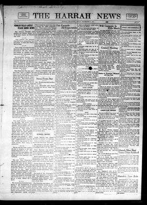 Primary view of object titled 'The Harrah News (Harrah, Okla.), Vol. 6, No. 33, Ed. 1 Friday, September 24, 1915'.