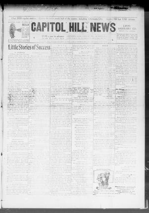 Primary view of object titled 'Capitol Hill News (Capitol Hill, Okla.), Vol. 3, No. 37, Ed. 1 Wednesday, June 3, 1908'.