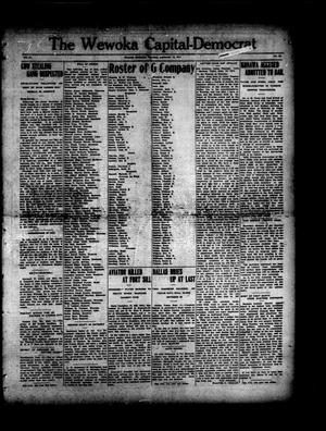 Primary view of object titled 'The Wewoka Capital-Democrat (Wewoka, Okla.), Vol. 17, No. 36, Ed. 1 Thursday, September 13, 1917'.
