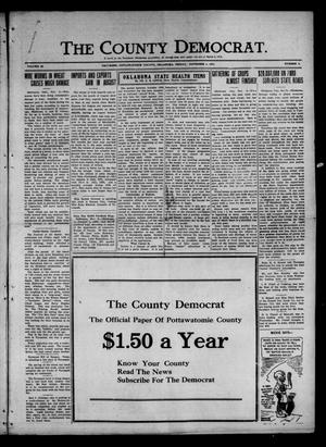 Primary view of object titled 'The County Democrat. (Tecumseh, Okla.), Vol. 28, No. 5, Ed. 1 Friday, November 4, 1921'.