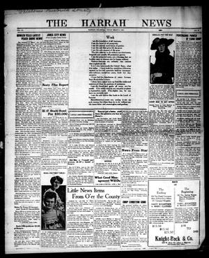 Primary view of object titled 'The Harrah News (Harrah, Okla.), Vol. 6, No. 6, Ed. 1 Friday, March 5, 1915'.