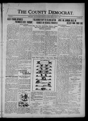 Primary view of object titled 'The County Democrat. (Tecumseh, Okla.), Vol. 27, No. 23, Ed. 1 Friday, March 4, 1921'.