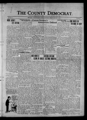 Primary view of object titled 'The County Democrat. (Tecumseh, Okla.), Vol. 27, No. 16, Ed. 1 Friday, January 14, 1921'.