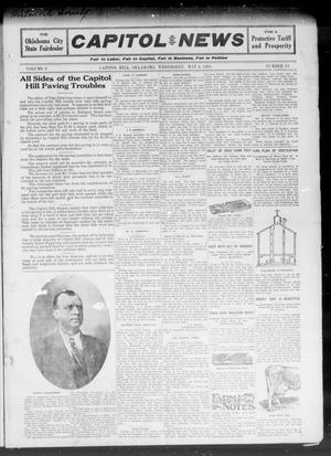 Primary view of object titled 'Capitol Hill News (Capitol Hill, Okla.), Vol. 6, No. 31, Ed. 1 Wednesday, May 3, 1911'.