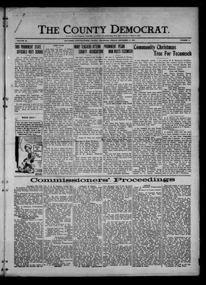 Primary view of object titled 'The County Democrat. (Tecumseh, Okla.), Vol. 28, No. 9, Ed. 1 Friday, December 9, 1921'.
