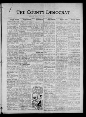 Primary view of object titled 'The County Democrat. (Tecumseh, Okla.), Vol. 25, No. 42, Ed. 1 Friday, July 18, 1919'.