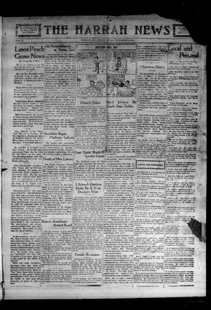 Primary view of object titled 'The Harrah News (Harrah, Okla.), Vol. 6, No. 47, Ed. 1 Friday, December 3, 1915'.
