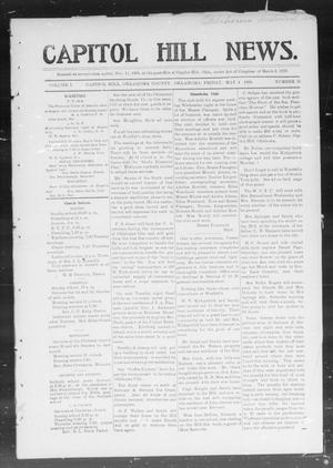 Primary view of object titled 'Capitol Hill News. (Capitol Hill, Okla.), Vol. 1, No. 35, Ed. 1 Friday, May 4, 1906'.