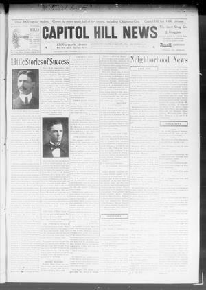 Primary view of object titled 'Capitol Hill News (Capitol Hill, Okla.), Vol. 3, No. 29, Ed. 1 Saturday, March 28, 1908'.
