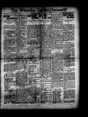 Primary view of object titled 'The Wewoka Capital-Democrat (Wewoka, Okla.), Vol. 17, No. 41, Ed. 1 Thursday, October 18, 1917'.
