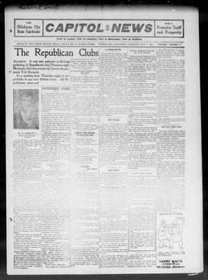 Primary view of object titled 'Capitol Hill News (Capitol Hill, Okla.), Vol. 6, No. 39, Ed. 1 Saturday, July 1, 1911'.