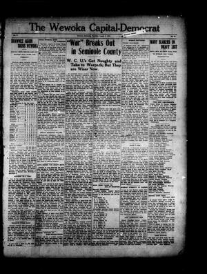 Primary view of object titled 'The Wewoka Capital-Democrat (Wewoka, Okla.), Vol. 17, No. 31, Ed. 1 Thursday, August 9, 1917'.