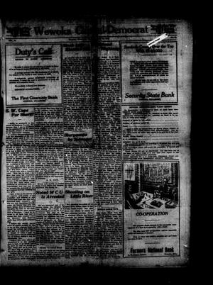 Primary view of object titled 'Wewoka Capital-Democrat (Wewoka, Okla.), Vol. 18, No. 15, Ed. 1 Thursday, April 25, 1918'.