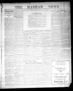 Primary view of object titled 'The Harrah News (Harrah, Okla.), Vol. 6, No. 5, Ed. 1 Friday, February 26, 1915'.