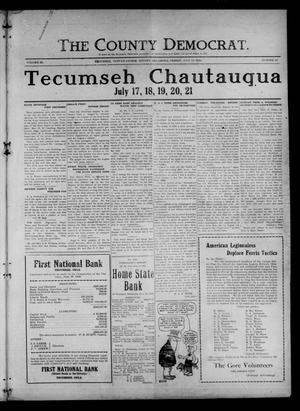 Primary view of object titled 'The County Democrat. (Tecumseh, Okla.), Vol. 26, No. 42, Ed. 1 Friday, July 16, 1920'.