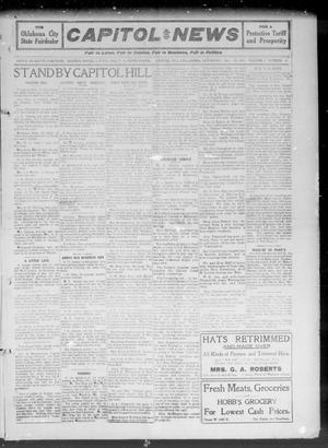 Primary view of object titled 'Capitol Hill News (Capitol Hill, Okla.), Vol. 7, No. 4, Ed. 1 Saturday, October 14, 1911'.