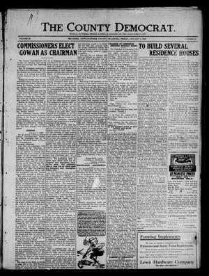 Primary view of object titled 'The County Democrat. (Tecumseh, Okla.), Vol. 26, No. 15, Ed. 1 Friday, January 9, 1920'.