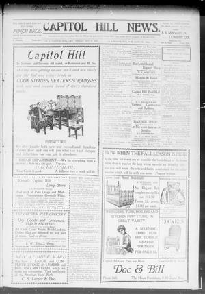 Primary view of object titled 'Capitol Hill News. (Capitol Hill, Okla.), Vol. 3, No. 7, Ed. 1 Friday, October 18, 1907'.