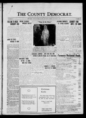 Primary view of object titled 'The County Democrat. (Tecumseh, Okla.), Vol. 27, No. 10, Ed. 1 Friday, December 3, 1920'.