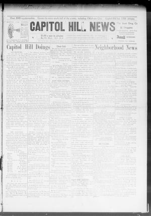 Primary view of object titled 'Capitol Hill News (Capitol Hill, Okla.), Vol. 3, No. 33, Ed. 1 Wednesday, May 6, 1908'.