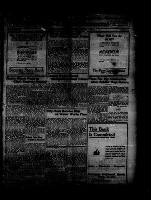 Primary view of object titled 'Wewoka Capital-Democrat (Wewoka, Okla.), Vol. 19, No. 22, Ed. 1 Thursday, June 5, 1919'.