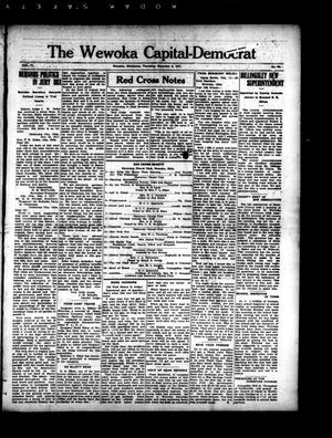 Primary view of object titled 'The Wewoka Capital-Democrat (Wewoka, Okla.), Vol. 17, No. 48, Ed. 1 Thursday, December 6, 1917'.